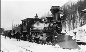 The C.P.R. was central to opening up much of Canada. Image via: http://postalhistorycorner.blogspot.ca/2014/06/millennium-13-rogers-pass.html