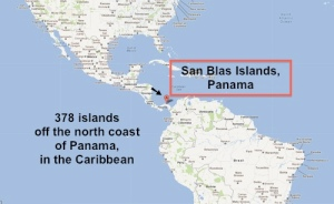 The San Blas Islands, in Panama