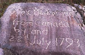 Alexander Mackenzie's Message