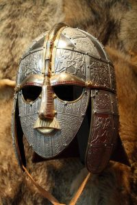 The Ceremonial Mask of Sutton Hoo via Pinterest