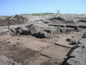 An archaeological site on the Sigatoka Sand Dunes, Fiji. Photo taken in the summer of 2010.