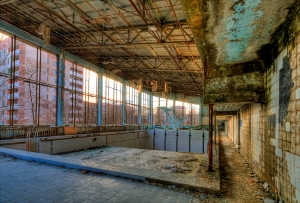A Swimming Pool in Pripyat, Ukraine Image by Timm Suess