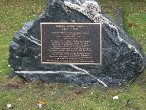The Grave of Billy Barker; image from www.flickr.com