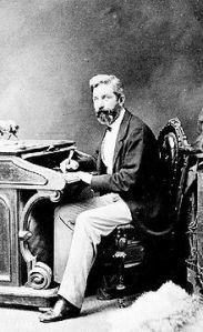 John Helmcken in 1854. Image from wikipedia