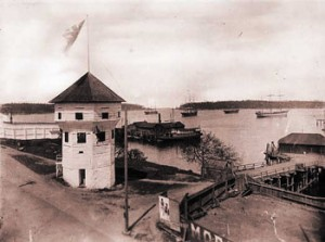 The Nanaimo Bastion; image from www2.viu.ca