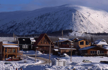 The town in 2007. Photo from www.nativejournal.ca