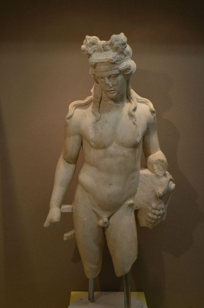 The best of the gods - Dionysus, god of theatre, grapes, and wine. Image from Pinterest: http://www.pinterest.com/pin/71987294019717556/